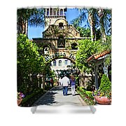The Mission Inn Stage Coach Entrance Shower Curtain