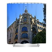 The Mission Inn Tower Shower Curtain