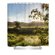 The Mists Of The Morning Shower Curtain