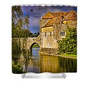 The Moat At Leeds Castle Shower Curtain