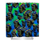 The Mob Shower Curtain