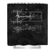 The Model T Patent Shower Curtain