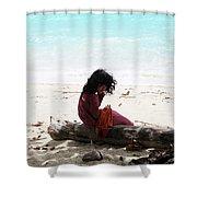 The Mollus Shower Curtain