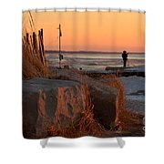The Moment 8 Shower Curtain