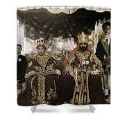 The Monarchs Haile Selassie The First Shower Curtain
