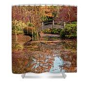 The Monet Bridge Shower Curtain