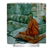 The Monk Shower Curtain