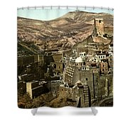 The Monstery Of Mar Saba Shower Curtain