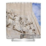 The Monument To The Discoveries Shower Curtain