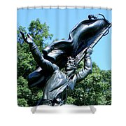 The Monument To The Soldiers And Sailors Of The Confederacy Shower Curtain