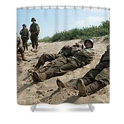 The Monuments Men Shower Curtain
