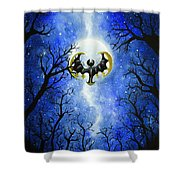 the moon of Lunala Shower Curtain