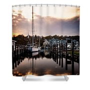 The Mooring Shower Curtain