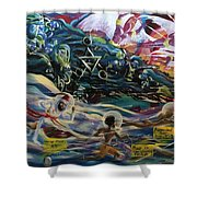 The Moors Of Mu And Ancient America Shower Curtain