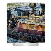 The Morgan On The Calumet River Shower Curtain