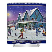 The Morning After At Campton New Hampshire Shower Curtain