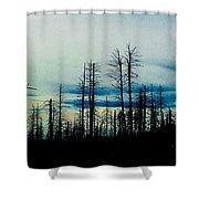 The Morning Burn Shower Curtain