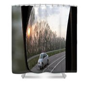 The Morning Commute II Shower Curtain