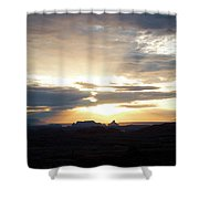 The Morning Streak Shower Curtain