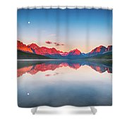 The Morning Tranquility Shower Curtain