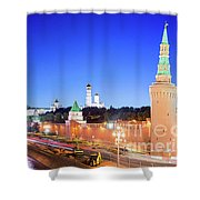 Moskva River Shower Curtain