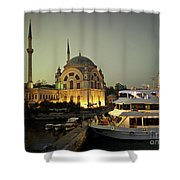 The Mosque Shower Curtain