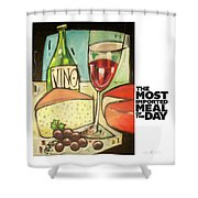 The Most Imported Meal Shower Curtain