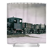 The Most Northern Train? Shower Curtain by James Billings