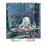The Mother Of Sonia Gramatte By Walter Gramatte Shower Curtain