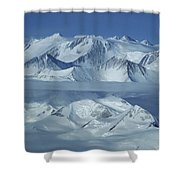 The Mount Vinson Massif 16, 059 Shower Curtain