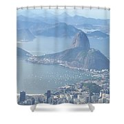 The Mountain In The Mist Shower Curtain
