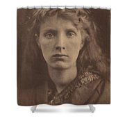 The Mountain Nymph, Sweet Liberty Shower Curtain