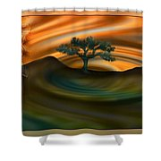 The Mountain Of Our Secrets  Shower Curtain