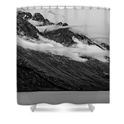 The Mountain Shower Curtain