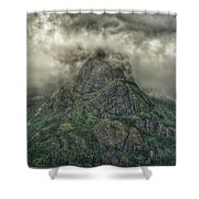 The Mountains Of Alaska  Shower Curtain