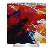 The Mountings Of The Sun Shower Curtain