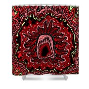 The Mouth Of Hell Shower Curtain