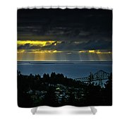 The Mouth Of The Columbia River Shower Curtain
