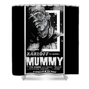 The Mummy 1932 Movie Poster  Shower Curtain