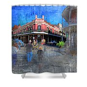 The Muriel's Of Jackson Square  Shower Curtain