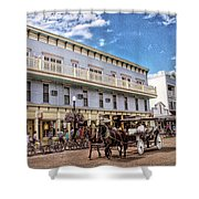 The Murray Hotel At Mackinac Island Shower Curtain