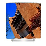 The Museum Of Art In Santa Fe Shower Curtain