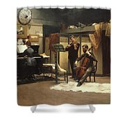 The Musicale, Shower Curtain