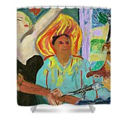 The Musician, The Big Easy Shower Curtain