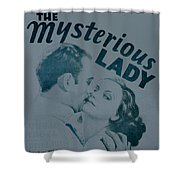 The Mysterious Lady Shower Curtain