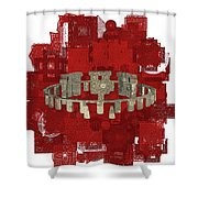 The Mystery Of Stonehenge Shower Curtain