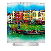 The Mystique Of Italy Shower Curtain