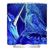 The Naeyad With Cyro Shower Curtain