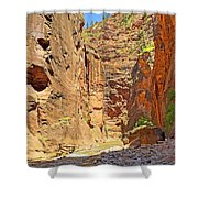 The Narrows Study 2 Shower Curtain