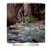 The Narrows, Zion National Park, Utah Shower Curtain